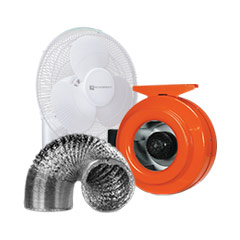 Shop Fans and Ducting for Grow Rooms Product Category