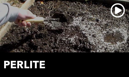 Perlite in your Garden Soil