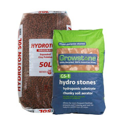 Expanded Clay Pellets & Grow Rocks