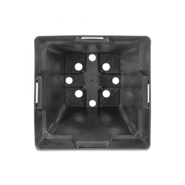5.5 Inch Square Nursery Pot With Drain Holes
