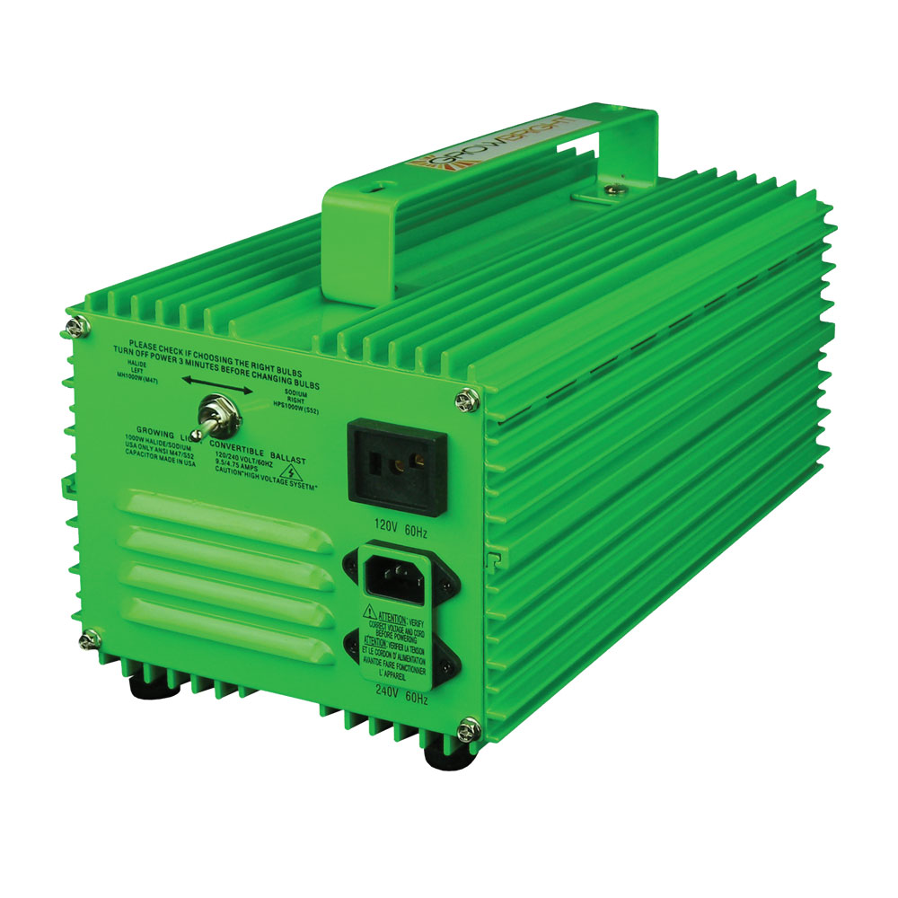 GrowBright Professional 1000w Switchable Ballast