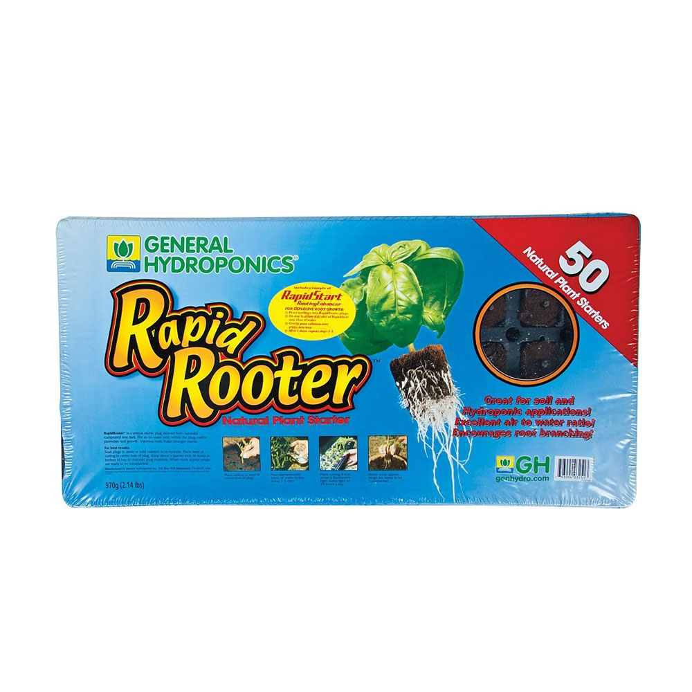 Rapid Rooter Tray – 50 cell tray & plugs
