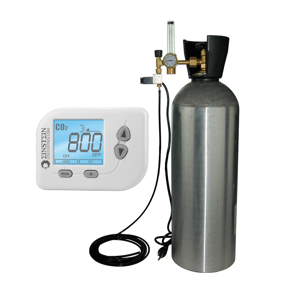 CO2 Tank and Regulator System for Indoor Gardening