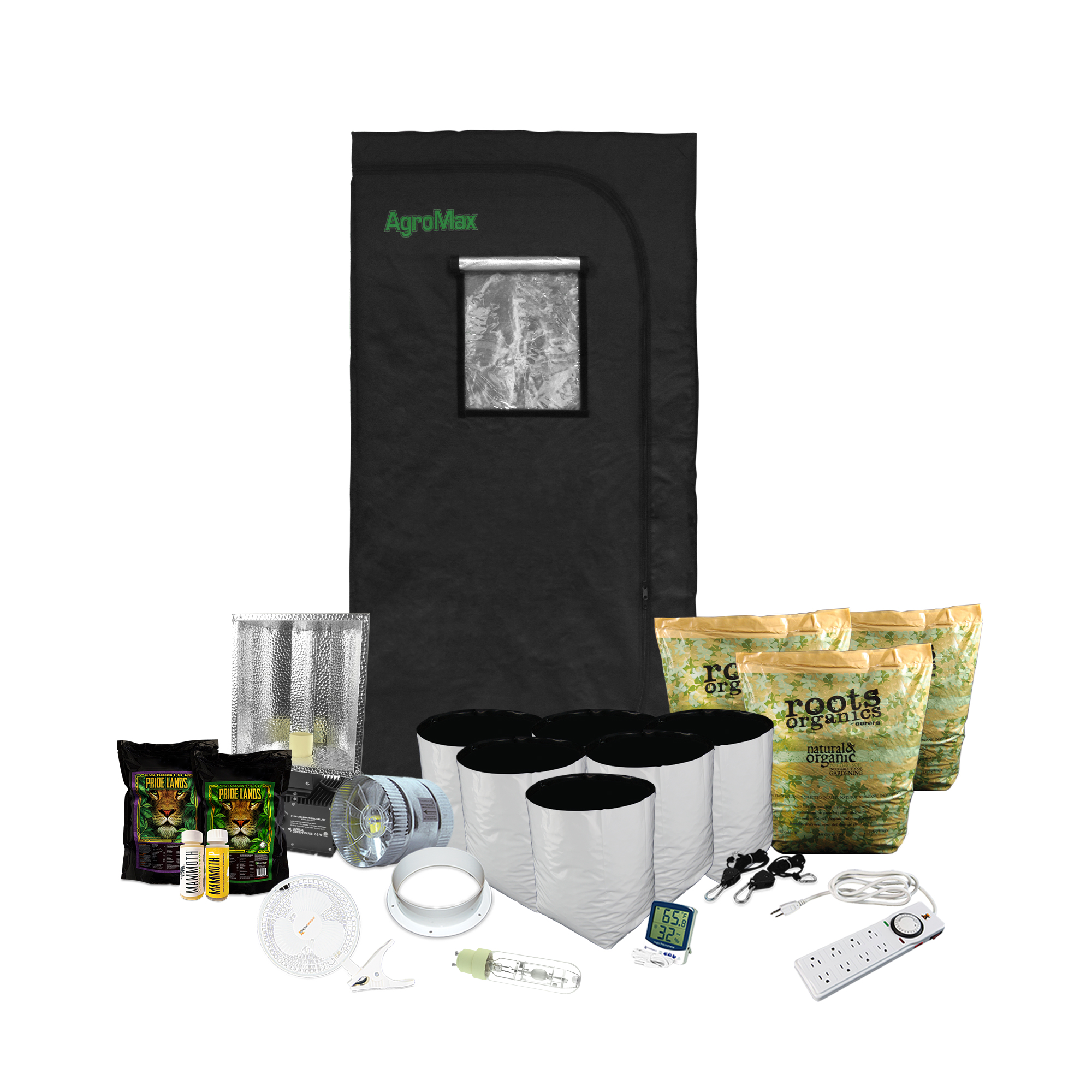 HTG 4x4 LED Grow Tent Kit