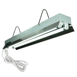 HTG Supply 2' 2-Lamp T5 Grow Light