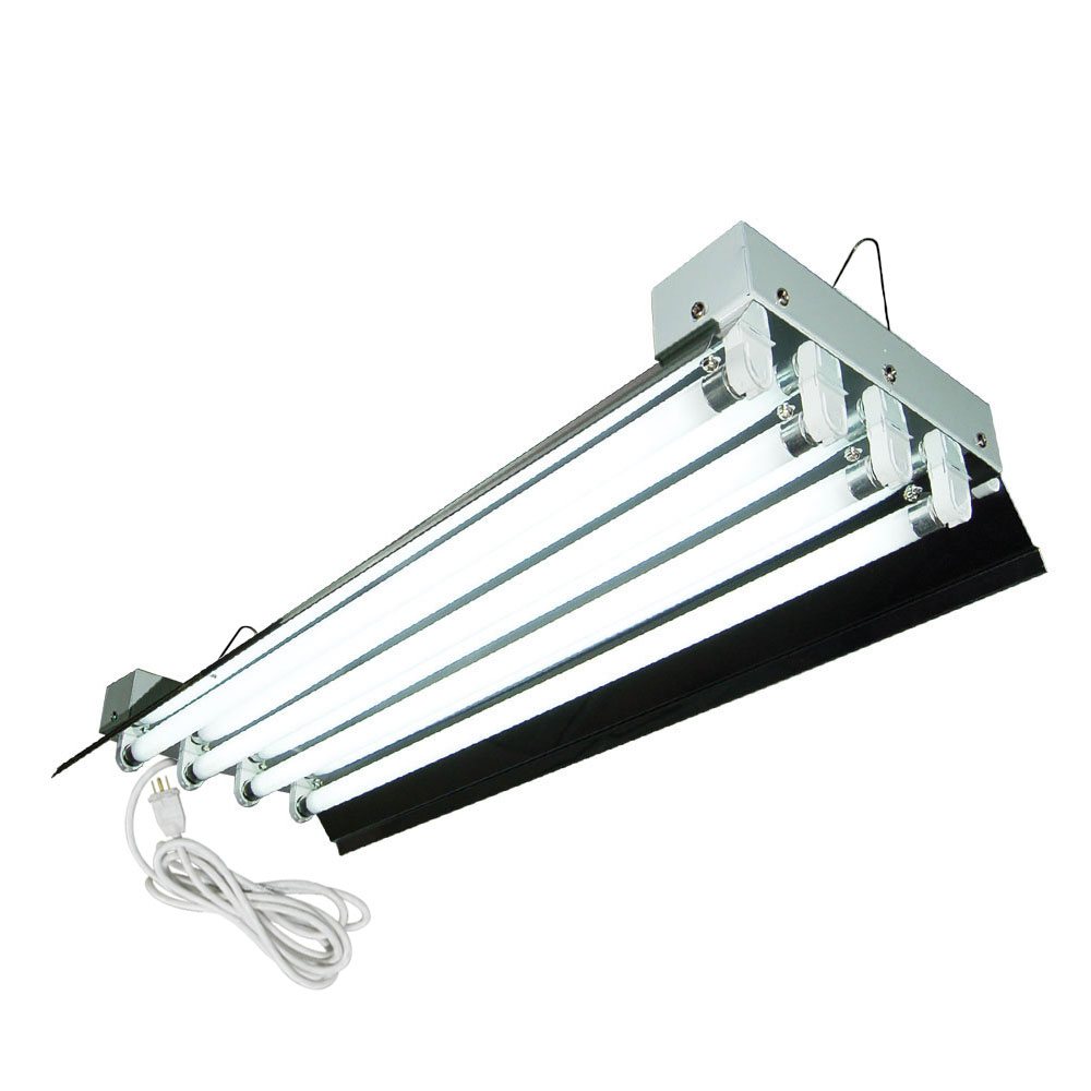 HTG Supply 2 Foot 4 Lamp High Output T5 Fixture
