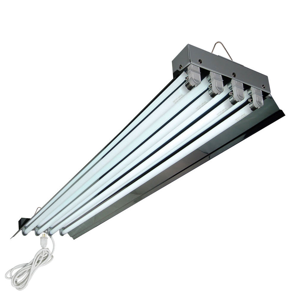HTG Supply 4 Foot 4 Lamp High Output T5 Fixture