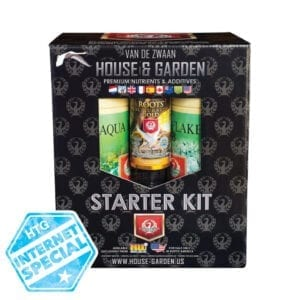 House And Garden Aqua Flakes Starter Kit Internet Special Pricing