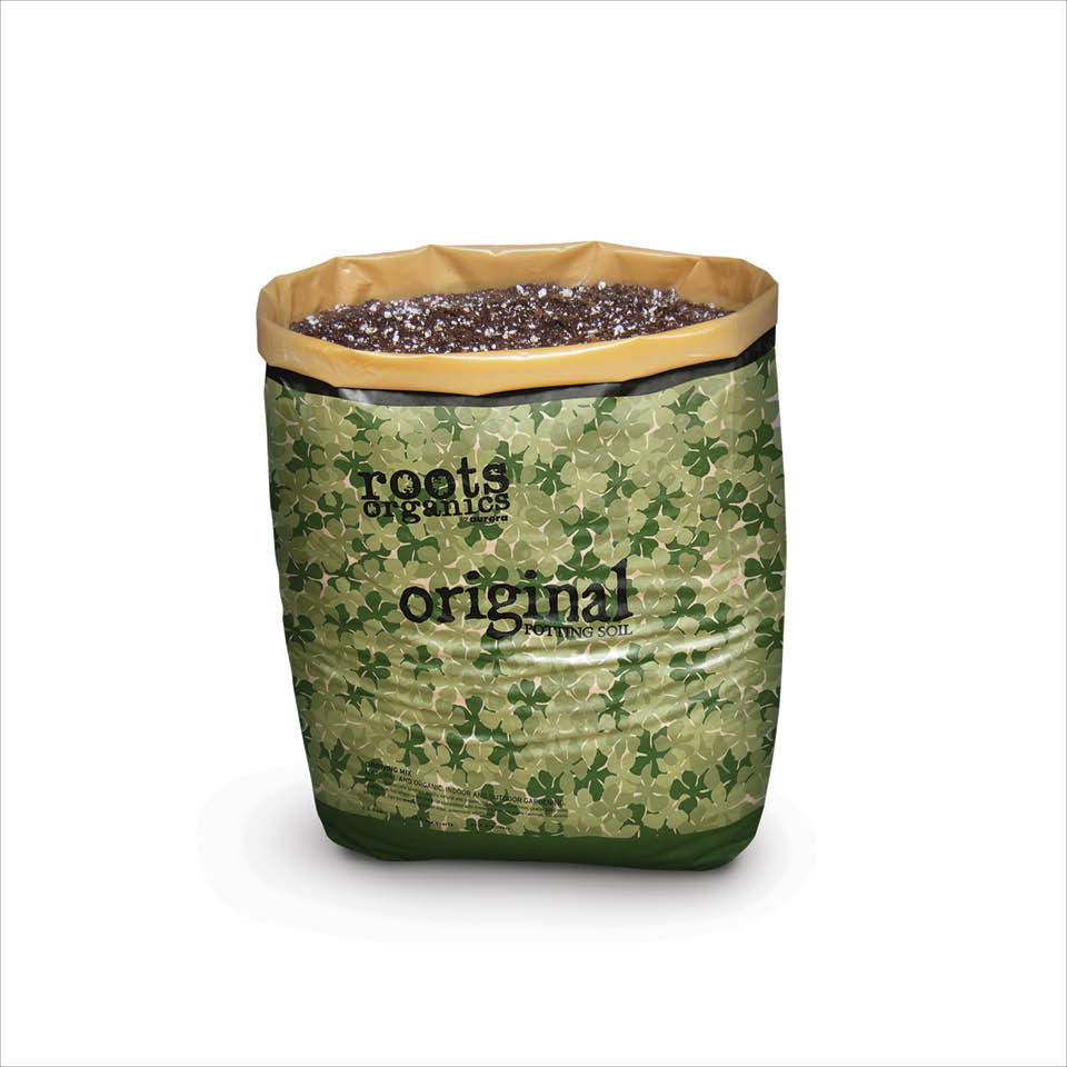 Roots Organics Potting Soil 1.5 Cubic Feet
