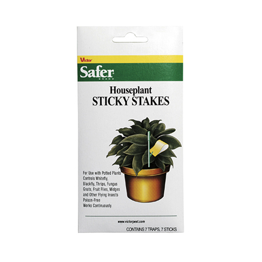 Safer Houseplant Sticky Stakes – 7 Pack