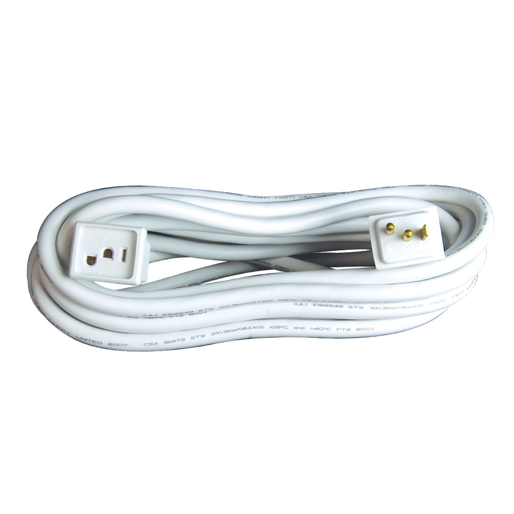 15 Foot Grow Light Socket Extension Cord