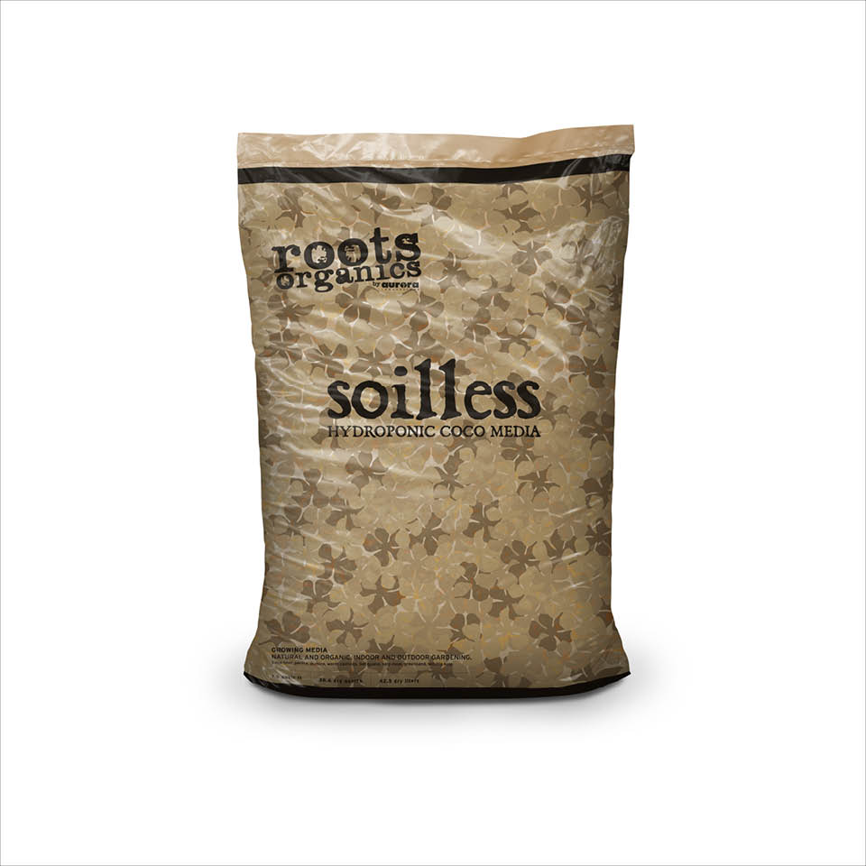 Roots Organic Soilless Cocofiber 1.5 Cubic Feet