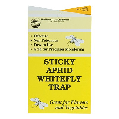 Sticky Aphid/Whitefly Traps – 5 Pack
