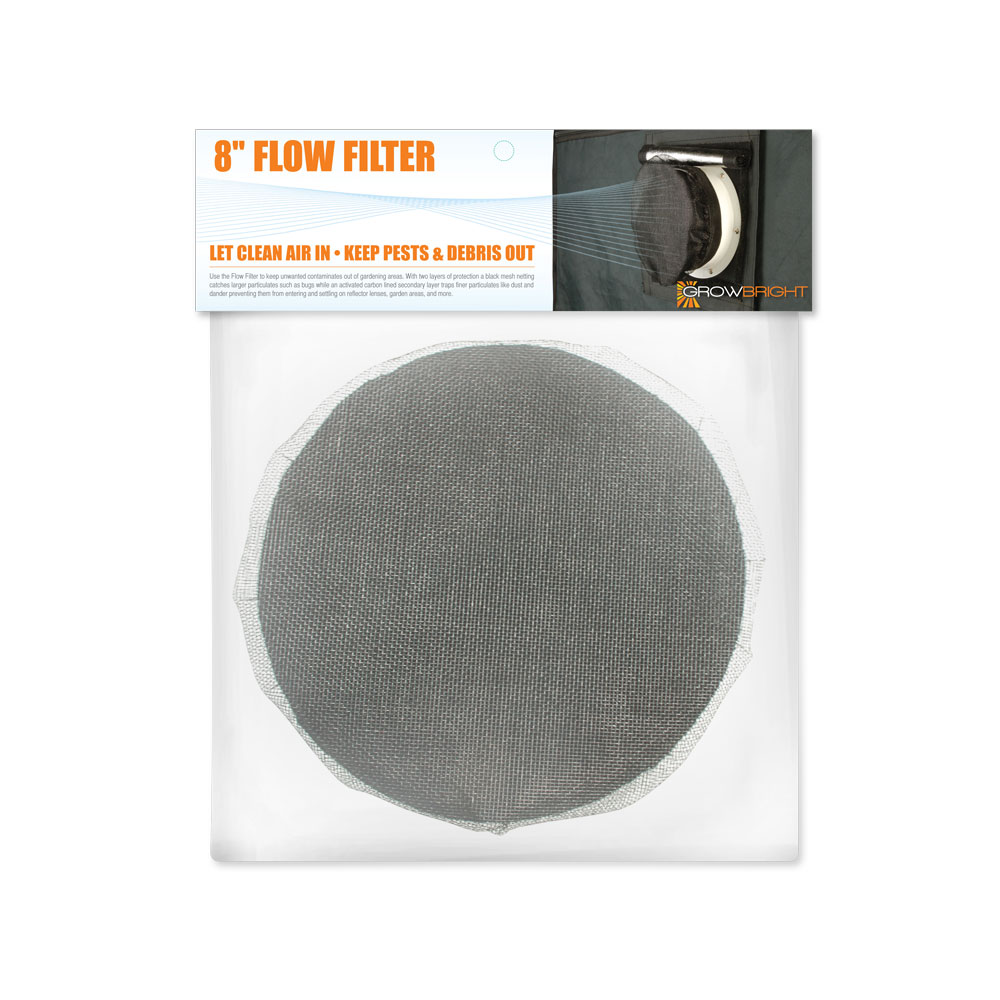 """8"""" GrowBright Duct Filter"""
