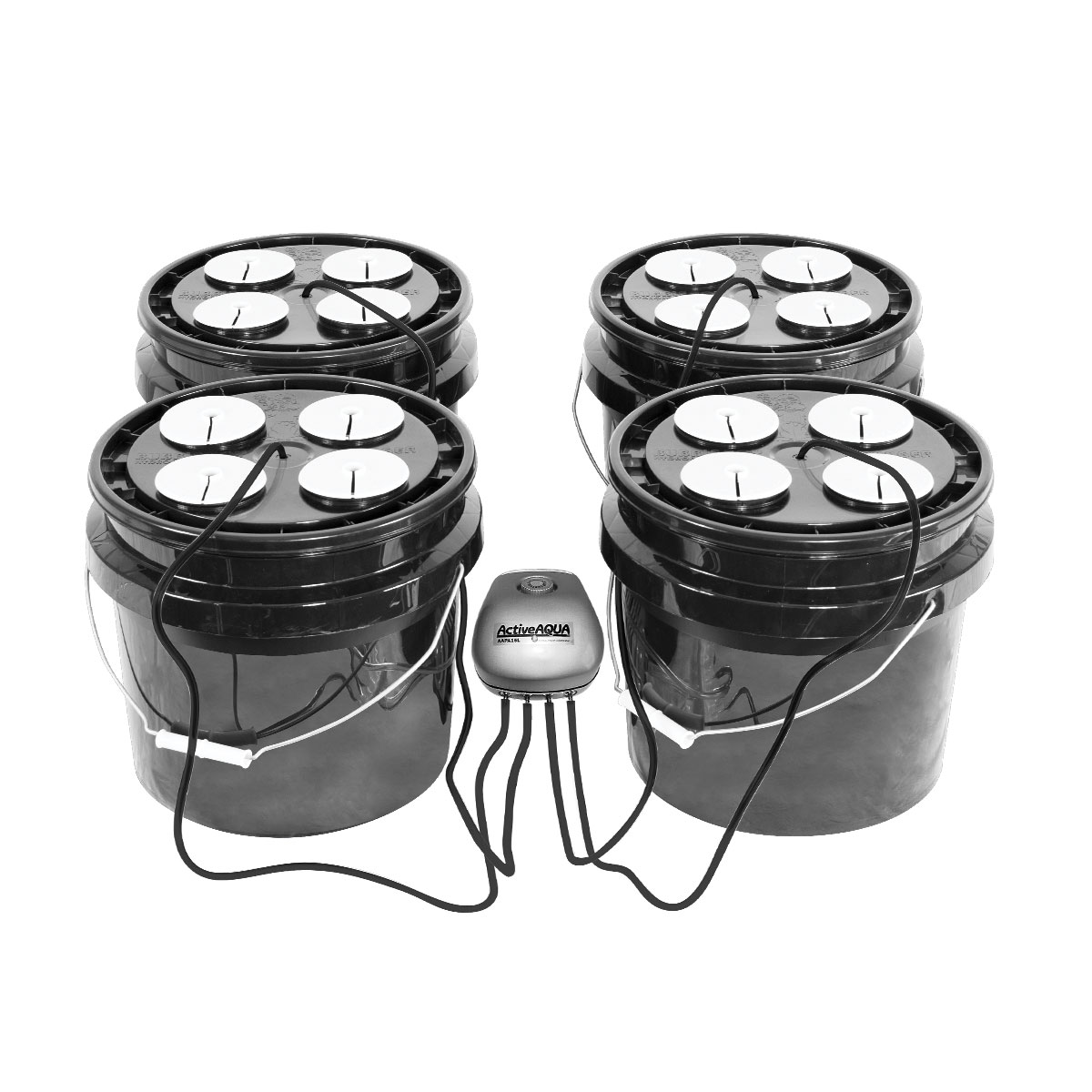 Bubble Brothers 4x4 16 Site DWC Bucket System