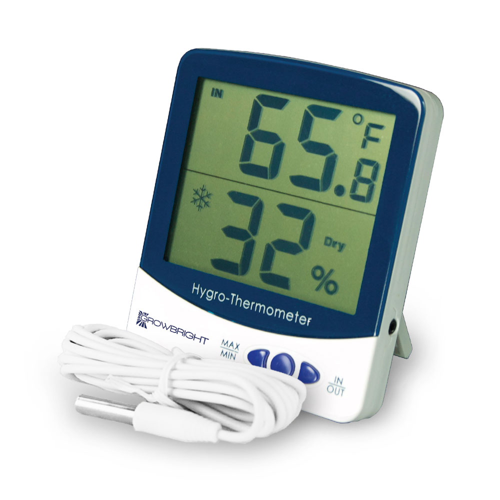 GrowBright Indoor/Outdoor Thermometer