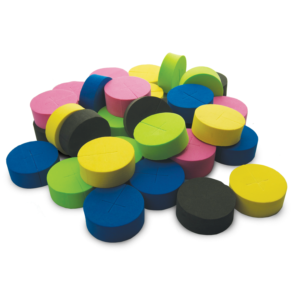 Mixed Color Foam Clone Collar 30 Pack