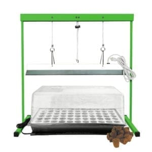 HTG Supply Seed Station Seed Starter Kit with Grow Light