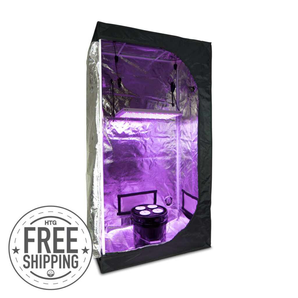 Small Hydro + LED Grow Kit
