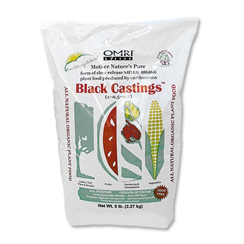Black Worm Castings