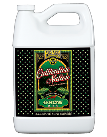 FoxFarm Cultivation Nation Grow Gallon