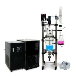 Usa Lab 10L Single Jacketed Glass Reactor Turnkey System