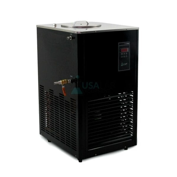 Usa Lab 10L Single Jacketed Glass Reactor Turnkey System Chiller