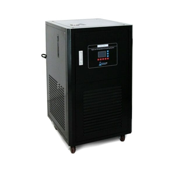 Usa Lab 50L Single Jacketed Glass Reactor Turnkey System Heater Chiller