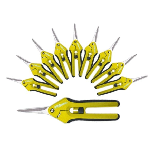 Precision Curved Pruning Scissors 10 Pack Htg Supply