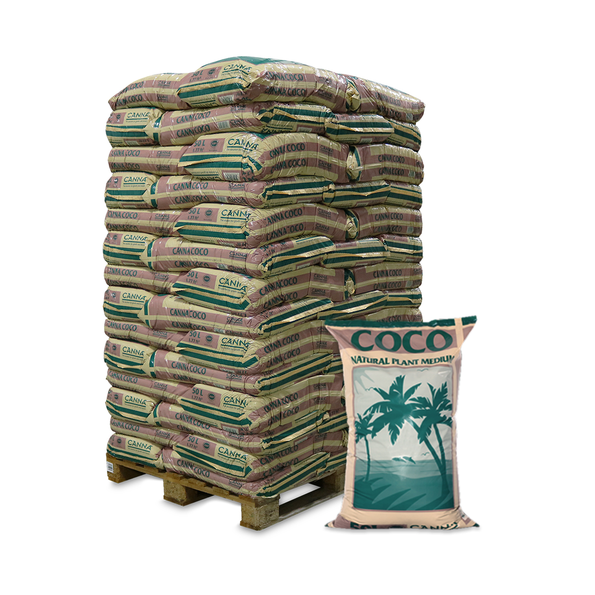 CANNA Coco 50L – Pallet of 70