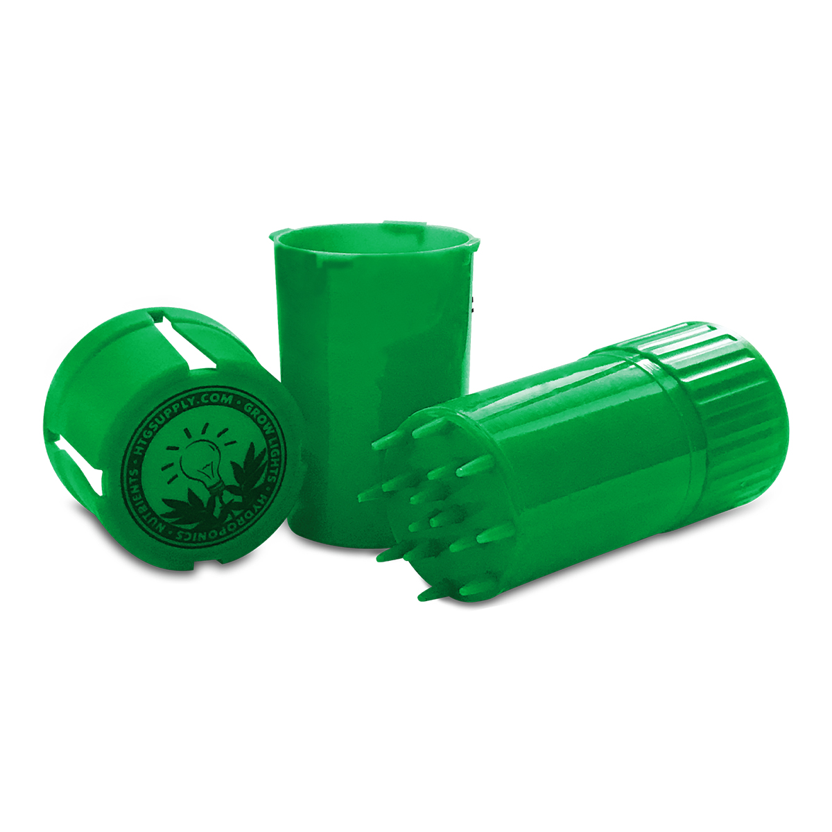 HTG Supply Plastic Herb Grinder