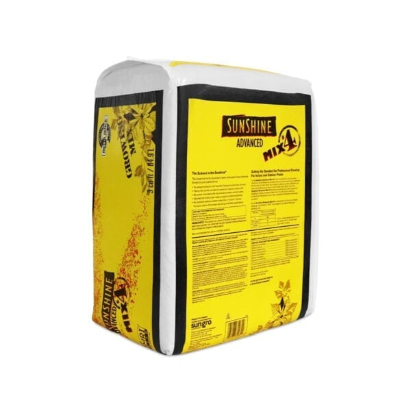 Sungro Sunshine 4 Advanced Growing Potting Mix Indications