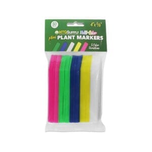 Plastic Plant Labels - Multi-Color