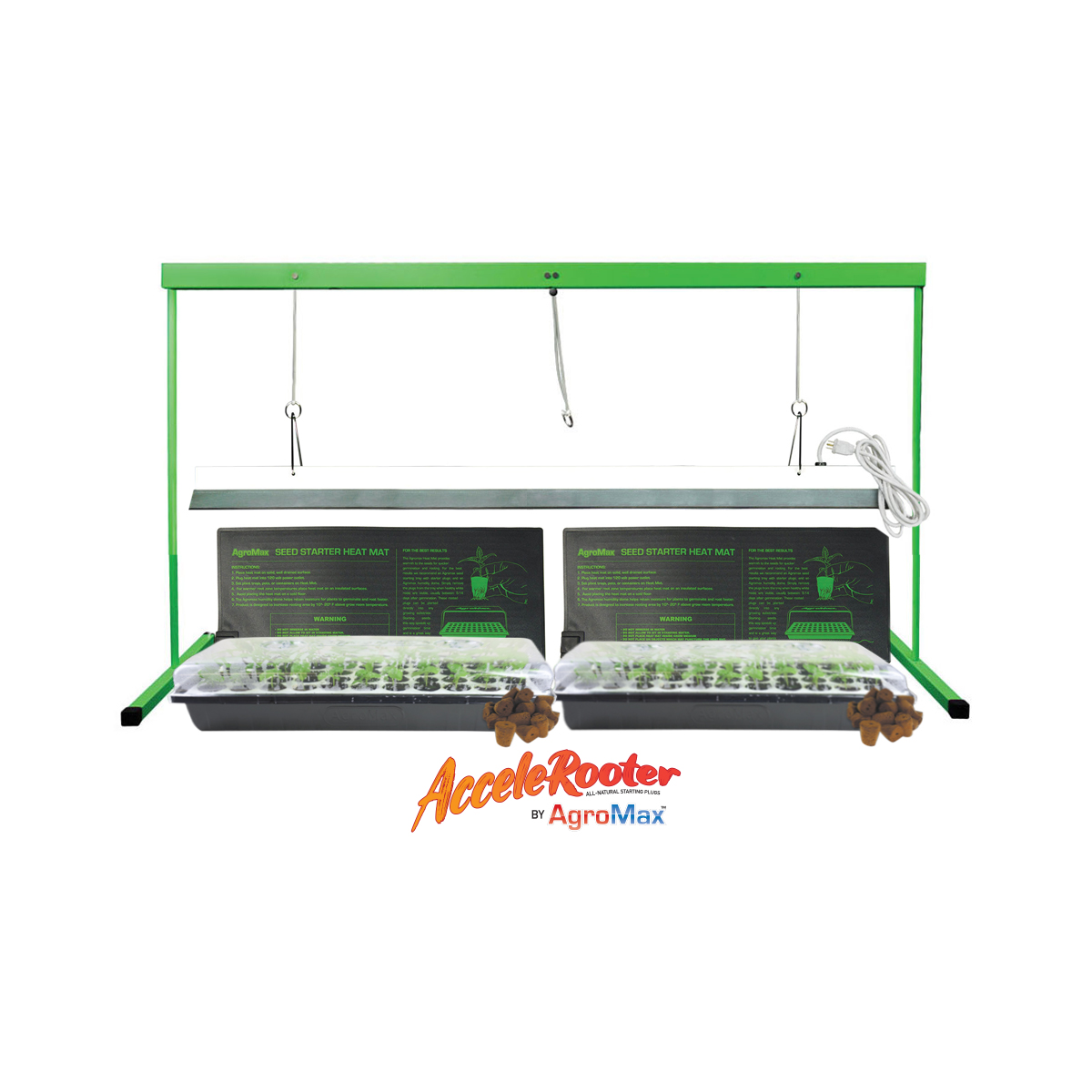 HTG Supply Seed Station XL with Standard Humidity Dome