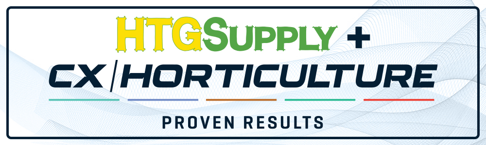 CX Horticulture is partnered with HTG Supply