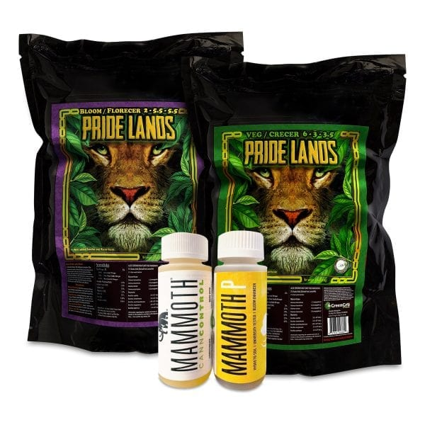 GreenGro Biologicals Pride Lands And Mammoth Tent Kits