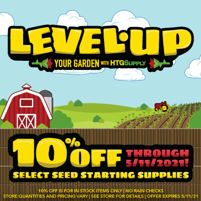 Sale on Garden Starting and Seed Starting Products 2021