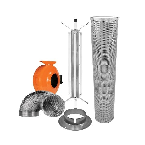 FloroFresh 424 Fan and Filter Kit Components