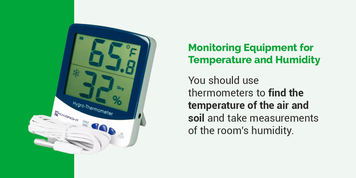Monitoring Equipment for Temperature and Humidity