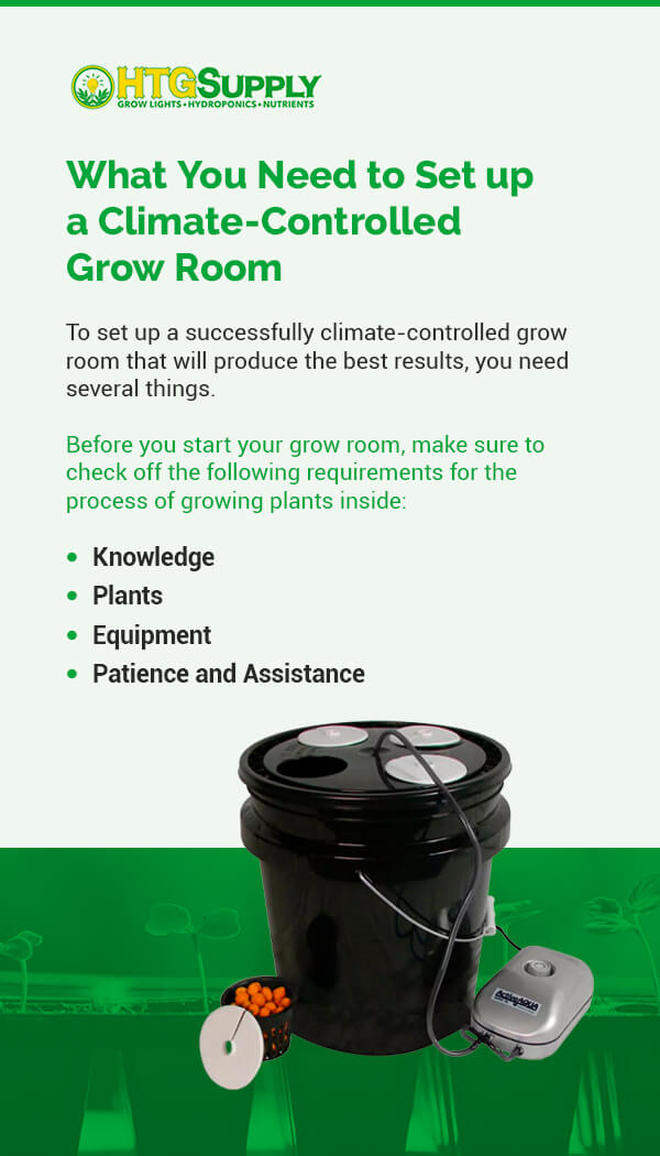 What You Need to Set up a Climate-Controlled Grow Room