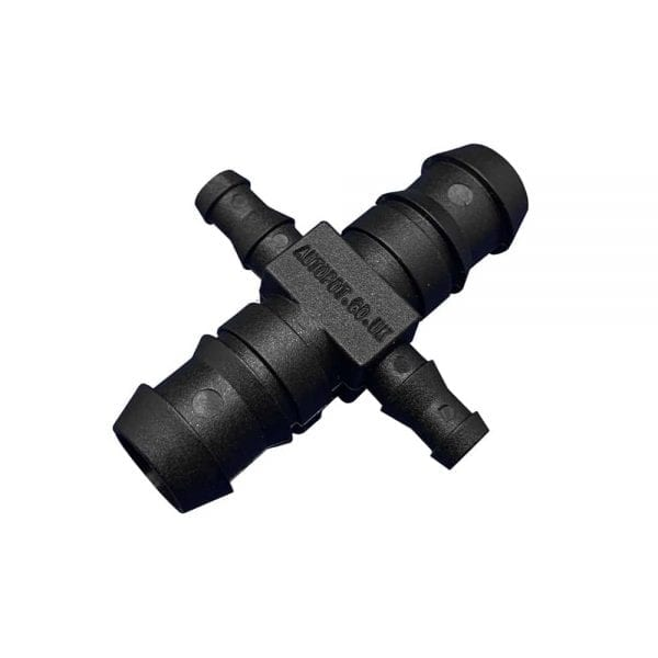 Autopot Cross Connector - Half Inch to Three Eighths Inch