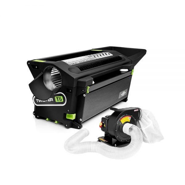 Twister T6 Trimmer With Leaf Collector