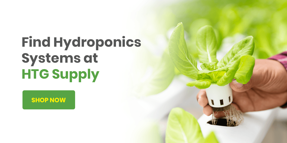 Find Hydroponics Systems at HTG Supply